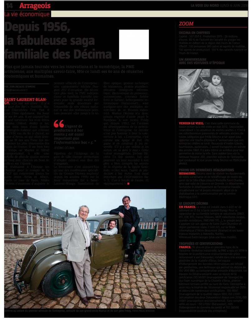 60-ans-DECIMA---article-La-Voix-du-Nord